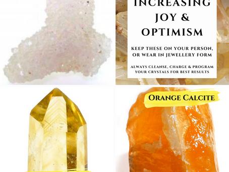 Crystals for Increasing Joy & Optimism