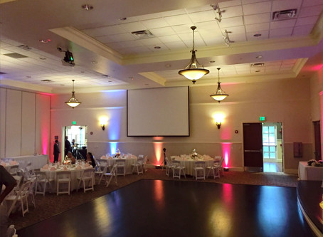 Lake Mary Events Center Wedding and Party Venue Lake Mary Sanford Florida DJ Uplights Photo Booth