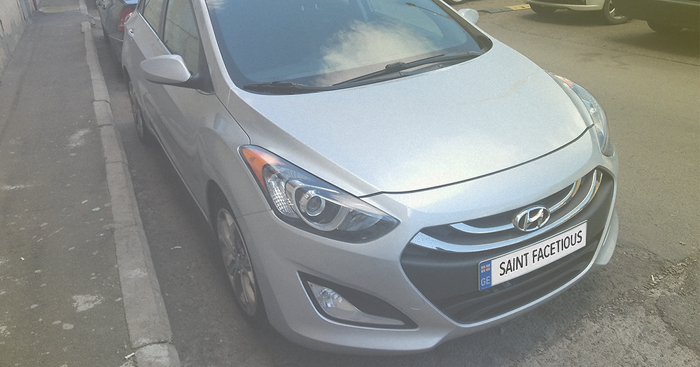Hyundai Elantra Tbilisi