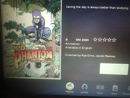 Animated Kid Phantom on Virgin Australia flights!