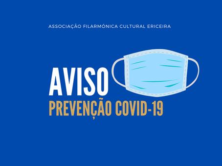 Informação | Medidas Preventivas de Propagação do Virus COVID-19 n.º 1/2020