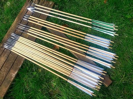 Full sheaf of military arrows