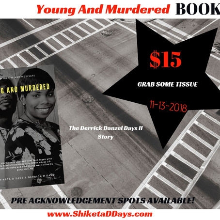 Young And Murdered BOOK Pre-Launch PreSell!