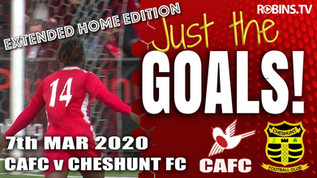 Just the Goals - Cheshunt