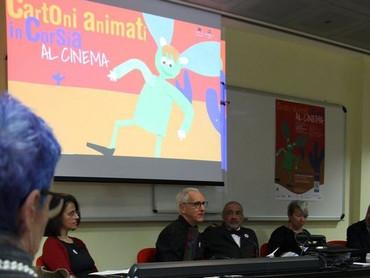 Conferenza stampa di presentazione della serata di proiezione dei Cartoni in Corsia all'Eden