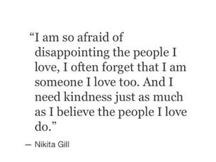 Finally admitting I'm sad