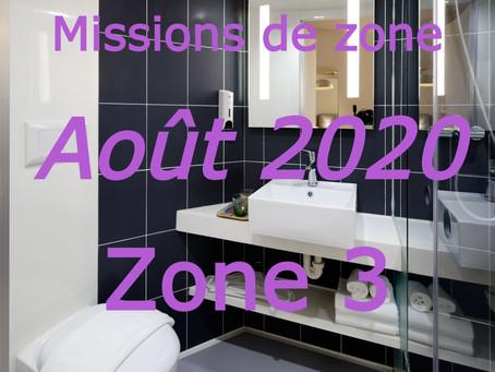 Zones : Missions semaine 34 - Zone 3