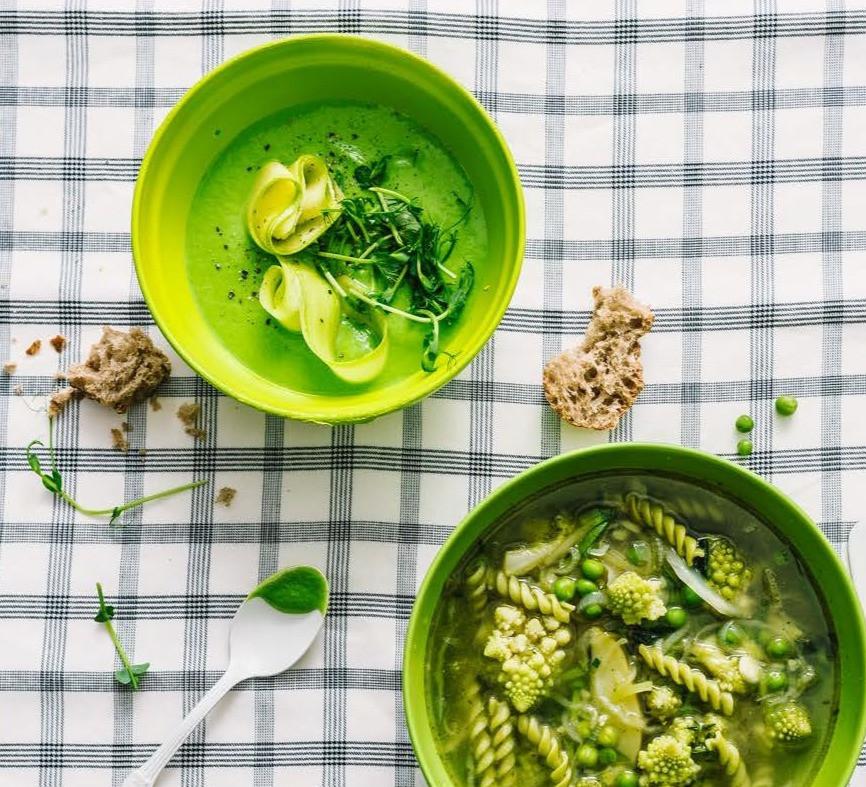 trinta žirnelių sriuba su cukinija, idėja pietums, greitos vakarienės, Alfo receptai