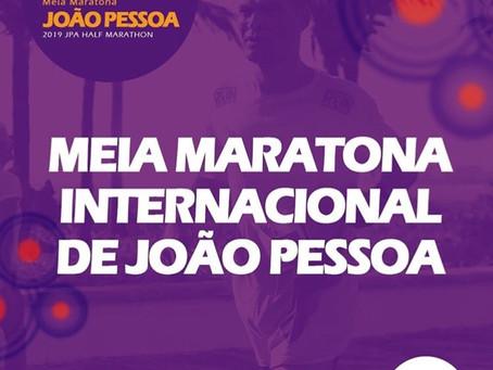A #21KJampaRUN agora é... MEIA MARATONA INTERNACIONAL DE JOÃO PESSOA