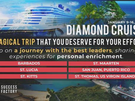 9-16 января 2019 Морской Круиз Success Factory для Diamond и выше!