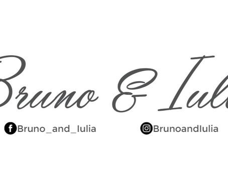 Bruno & Iulia Logo design