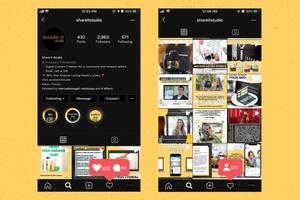 Share It Studio Instagram Feed