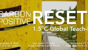Registration Open: Global Carbon Positive Reset Tech-In