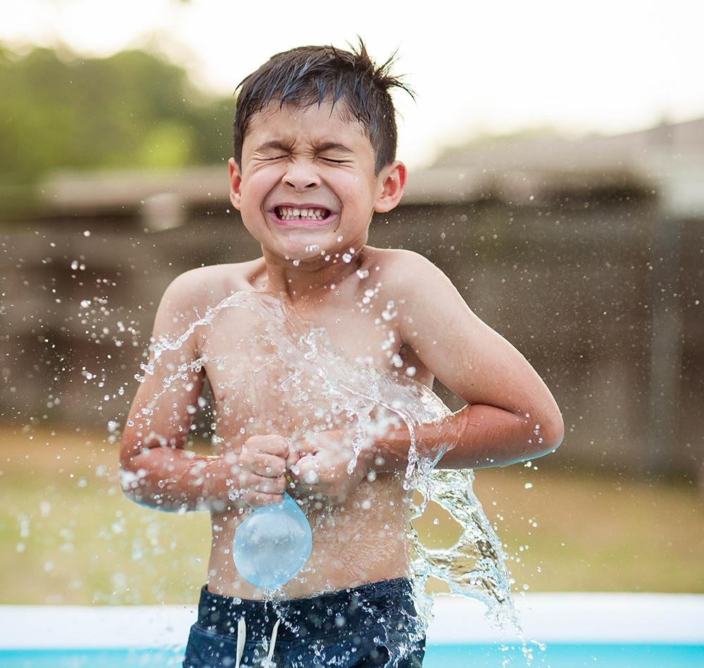 waterballon tijdbom zomerse buitenspelletjes voor kinderen