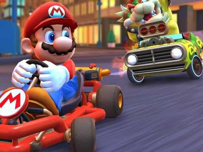 Mario Kart Tour ganha modo paisagem