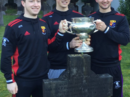Fitzgibbon Cup comes home to Rochestown College