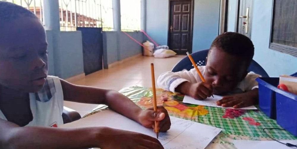 Home Schooling Kids in Ghana