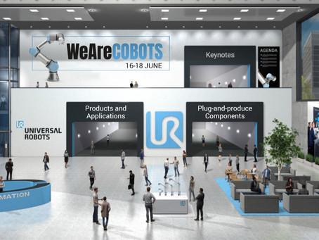 WeAreCobots 2020 - La Fiera Virtuale Universal Robot