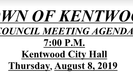 August 2019 Council Meeting Files