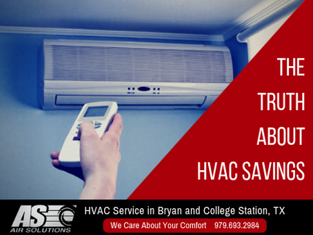 The Truth About HVAC Savings