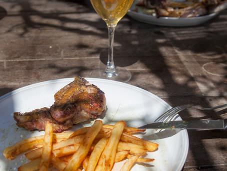 Marché du 13 aout à La Bourboule : Viande d'agneau !