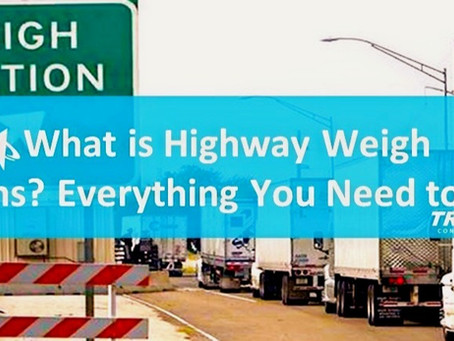 What are Highway Weigh Stations? Everything You Need to know