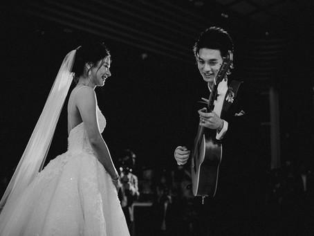 """Icy + Nick"" wedding reception"