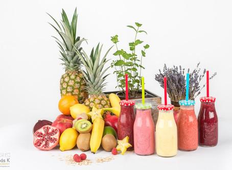 Autumn Vitamins through healthy Smoothies