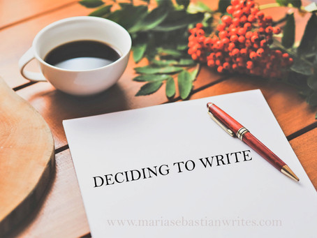 My Decision to Write