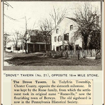 The Reese family of Reeseville, Pennsylvania