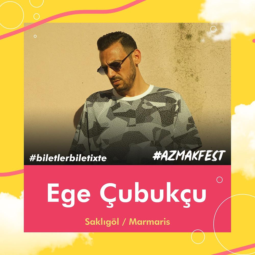 Ege Çubukçu #AzmakFest'te sahnede.