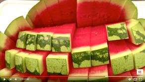 Jak nejlépe nakrájet meloun