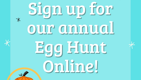 Online Egg Hunt Registration!