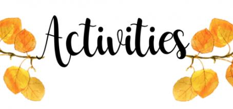 Year 5 Activities