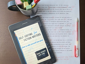 Writing Craft Reviews: Self-Editing for Fiction Writers
