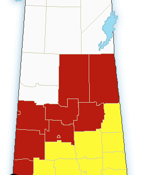 Blizzard & snowfall warnings issued for Saskatchewan