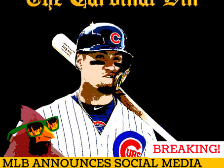 Cardinal Sin: MLB Announces Social Media Layoffs in Wake of Baez Injury.