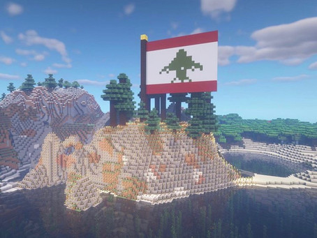 A Minecraft Tribute to Beirut, Lebanon