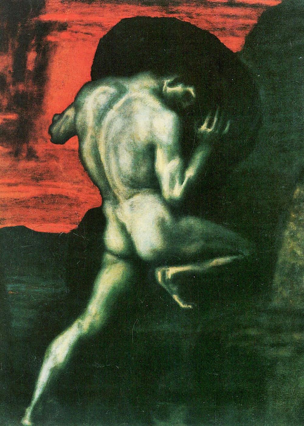 Franz Von Stuck, Sisyphus, 1920
