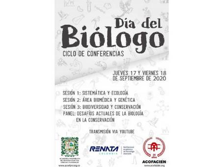 Día del biólogo - ciclo de conferencias