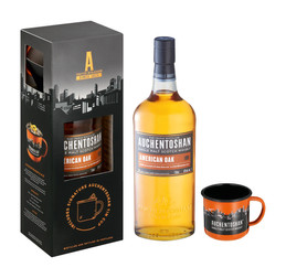 AUCHENTOSHAN AMERICAN OAK – new look, same smooth triple distilled scotch.
