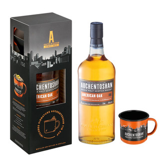 AUCHENTOSHAN AMERICAN OAK – new look, same smooth triple distilled scotch.
