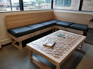 AWSM Couch and Table