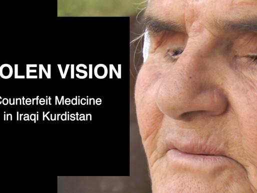 Stolen Vision - Counterfeit Medicine in Iraqi Kurdistan