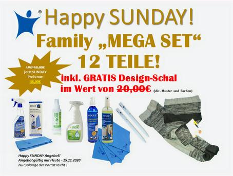 "Happy SUNDAY ""MEGA DEAL"" NUR HEUTE !"