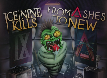 Ice Nine Kills and From Ashes to New rocks the Rex!
