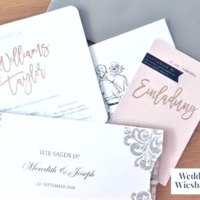 Hochzeitseinladungen / Save-the-date  -                Wann? Wie? Wo?