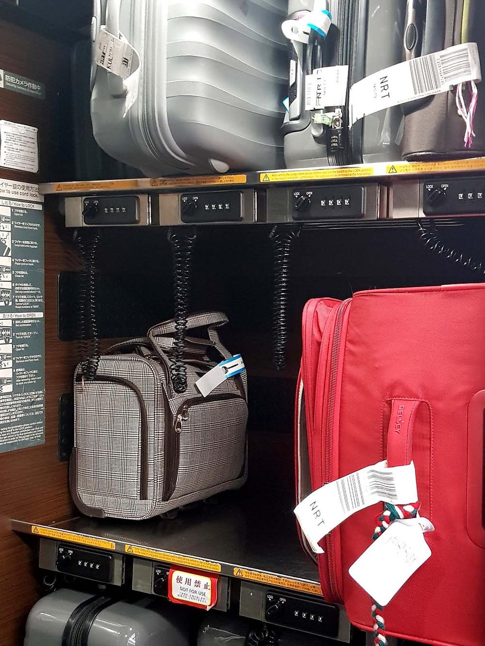 viajar con maletas, japantrip, viaje en tren