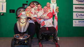 On behalf of the Plymouth disabled dart league
