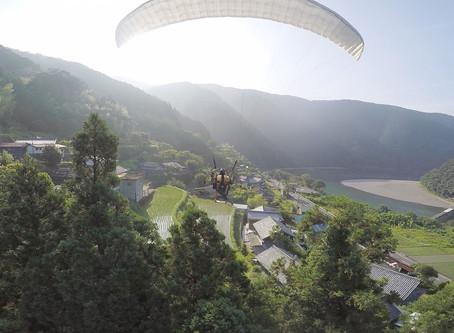 【空の旅・四万十川】ガツンと往復60キロ飛んだ結果